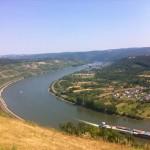 Rhine river valley at Boppard