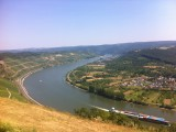 Rhine river valley at Boppard